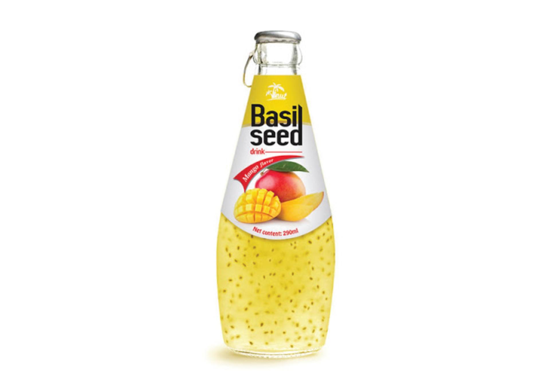 Basil Seed à la mangue