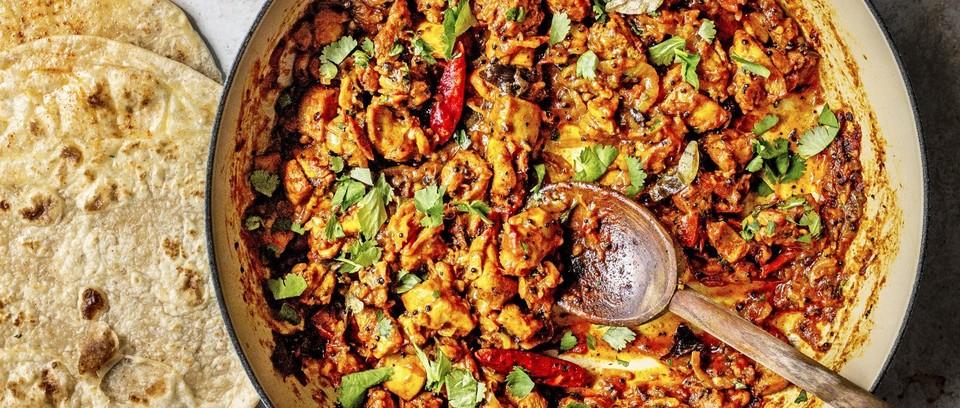 Poulet frit Indien épicé