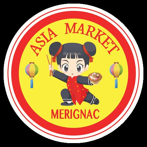 Logo Asia Market Epicerie asiatique Merignac Bordeaux