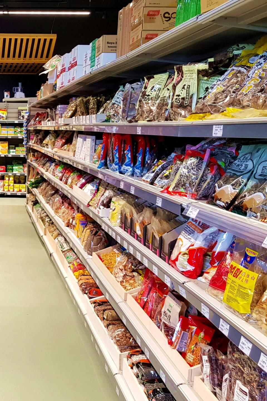Rayon intérieur asia market épicerie asiatique
